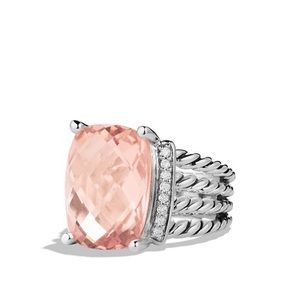DY Morganite Wheaton Ring